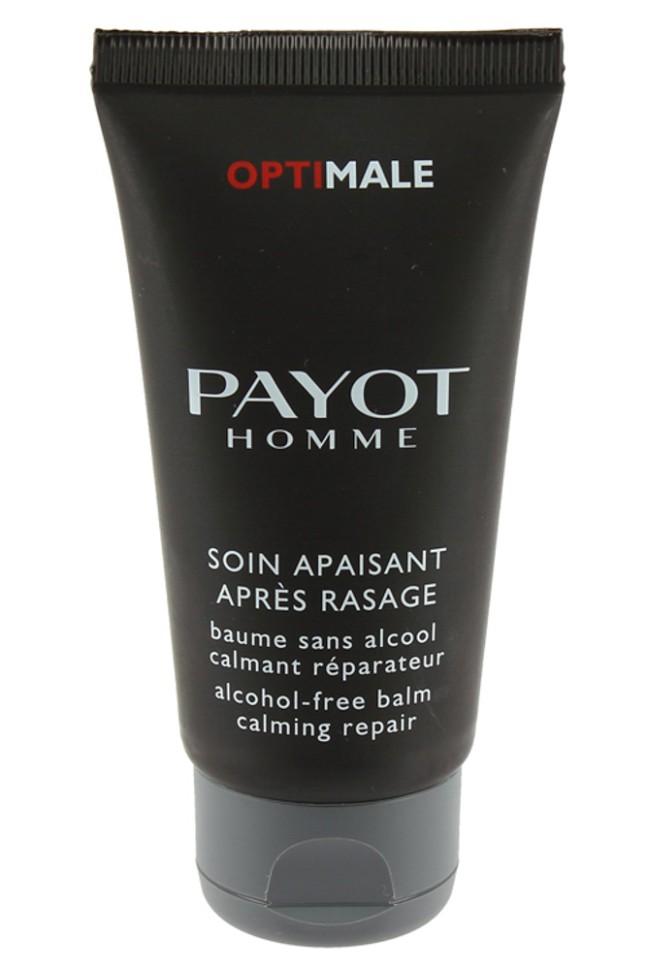 Payot Optimale Успокаивающий бальзам после бритья 50 млPayot<br>Бальзам успокаивает кожу после бритья, смягчает, восстанавливает.<br>Способ применения:<br>Наносите бальзам на кожу лица после бритья.<br>Состав:<br>AQUA (WATER), POLYMETHYL METHACRYLATE, CAPRYLIC/CAPRIC TRIGLYCERIDE, BUTYROSPERMUM PARKII (SHEA) BUTTER, GLYCERIN, C12-16 ALCOHOLS, DIMETHICONE, DI-C12-13 ALKYL MALATE, LIMNANTHES ALBA (MEADOWFOAM) SEED OIL, JOJOBA ESTERS, PANTHENOL, NIACINAMIDE, SODIUM ASCORBYL PHOSPHATE, ALLANTOIN, FAEX (YEAST) EXTRACT, AESCULUS HIPPOCASTANUM (HORSE CHESNUT) SEED EXTRACT, DIPOTASSIUM GLYCYRRHIZATE, HEMATITE EXTRACT, TOCOPHERYL ACETATE, AMMONIUM GLYCYRRHIZATE, SODIUM PCA, ZINC GLUCONATE, CAFFEINE, ALOE BARBADENSIS LEAF JUICE, MAGNESIUM PCA, ZINC PCA, RHODOCHROSITE EXTRACT, TOCOPHEROL, MANGANESE PCA, BIOTIN, ETHYLHEXYL PALMITATE, COCO-CAPRYLATE/CAPRATE, ETHYLHEXYLGLYCERIN, ACRYLATES/ VINYL ISODECANOATE CROSSPOLYMER, HYDROGENATED LECITHIN, PALMITIC ACID, CAPRYLYL GLYCOL, 1,2-HEXANEDIOL, TROMETHAMINE, PROPYLENE GLYCOL, DISODIUM EDTA, SODIUM CITRATE, CITRIC ACID, PARFUM (FRAGRANCE), HEXYL CINNAMAL, HYDROXYISOHEXYL 3-CYCLOHEXENE CARBOXALDEHYDE, LINALOOL, BENZYL SALICYLATE, LIMONENE, COUMARIN, PHENOXYETHANO<br><br>Вес г: 94<br>Бренд : Payot<br>Объем мл: 50<br>Возраст : 16, 16+<br>Страна производитель : Франция