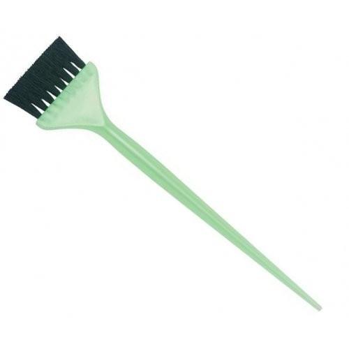 Dewal Кисть для окрашивания зеленая с белой прямой щетиной, узкая 45ммDewal<br><br><br>Вес г: 20<br>Бренд: Dewal