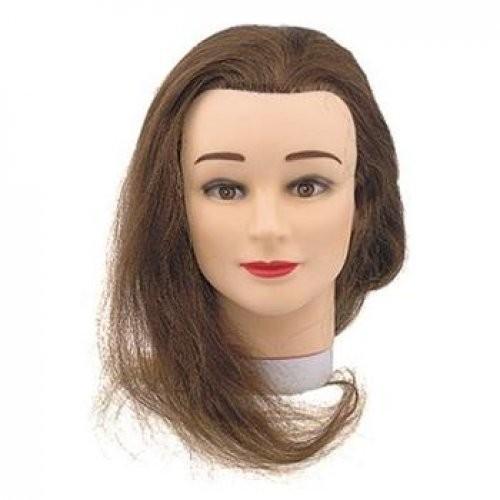 Sibel Голова учебная 35-40см (прот.100%)Sibel<br>Тренировочный макет Sibel шатенка с протеиновыми волосами 100%. Длина волос 35-40 см.<br><br>Вес г: 300<br>Бренд: Sibel