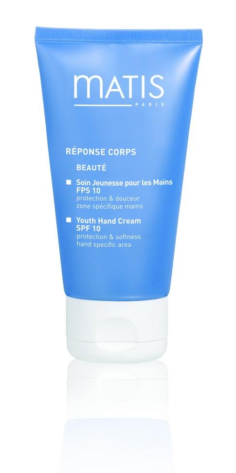 Matis Линия для тела Омолаживающий крем для рук spf10 50 млMatis<br>Этот совершенный крем даст ответы на все вопросы по уходу за кожей рук и обеспечит все необходимое: увлажнение, питание, защиту от вредного солнечного излучения. Крем препятствует старению кожи, предупреждает появление пигментных пятен. Нежная, но насыщенная активными компонентами текстура прекрасно распределяется и мгновенно впитывается.<br>Способ применения:<br>Нанесите крем на руки легкими круговыми движениями, не забывая про запястья.<br>Особенности состава:<br>Витамины А, Е, Nanocitrus, UVA/ UVB фильтры, Растительный глицерин, Оливковый воск<br>Состав:<br>ALCOHOL, CITRUS AURANTIUM AMARA (BITTER ORANGE) FRUIT EXTRACT, CITRUS PARADISI (GRAPEFRUIT) FRUIT EXTRACT, PHENYLBENZIMIDAZOLE SULFONIC ACID, RETINYL PALMITATE, TOCOPHERYL ACETATE, LECITHIN, CETEARYL GLUCOSIDE, PEG-100 STEARATE, CAPRYLYL GLYCOL, ACRYLATES/C10-30 ALKYL ACRYLATE CROSSPOLYMER, STEARIC ACID, HELIANTHUS ANNUUS (SUNFLOWER) SEED OIL, GLYCERYL STEARATE, PALMITIC ACID, PENTYLENE GLYCOL, TRIETHANOLAMINE, PARFUM (FRAGRANCE), PHENOXYETHANOL, ETHYLHEXYLGLYCERIN, TOCOPHEROL, SODIUM ASCORBATE, TETRASODIUM EDTA, BHT, LIMONENE, LINALOOL, HEXYL CINNAMAL, COUMARIN, CITRAL, BUTYLPHENYL METHYLPROPIONAL.<br><br>Вес г: 110<br>Бренд : Matis<br>Объем мл: 50<br>Возраст : 18+<br>Средство для рук : крем<br>Страна производитель : Франция