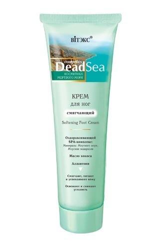 Витэкс Крем для ног СмягчающийВитэкс<br>Эффективный крем, обогащенный минералами Мертвого моря, благотворно влияет на кожу ног, питает и смягчает ее, увлажняет и защищает. Насыщает кожу уникальными целебными минералами и микроэлементами Мертвого моря, активизирует обменные процессы и улучшает клеточное дыхание. Благодаря богатой формуле крем обладает противовоспалительным и успокаивающим действием, уменьшает потоотделение и дезодорирует. Особый состав крема облегчает проникновение в кожу полезных веществ, что позволяет вернуть мягкость, эластичность и здоровье. Быстро снимает усталость и придает ногам приятное ощущение свежести и комфорта.Объем: 100 млСостав: вода, вазелиновое масло, цетеариловый спирт, стеариновая кислота, глицерин, изопропилпальмитат, диметикон, масло Cocos Nucifera кокосовое, цетеарет-25, воск пчелиный, триэтаноламин, масло зародышей triticum vulgare пшеницы, токоферилацетат, изопропилмиристат, бутилгидрокситолуол, хлоргидрат алюминия, аллантоин, метилпарабен, парфюмерная композиция, пропилпарабен, бензиловый спирт, метилхлоризотиазолинон, метилизотиазолинон, экстракт Sargassum pallidium водорослей, экстракт Laminaria japonica водорослей, экстракт таллуса Fucus vesiculosus водорослей, экстракт Laminaria digitata водорослей, соль Мертвого моря, бензилсалицилат, амилциннамаль, лимонен, линалол, бутилфенилметилпропиональ, гексилциннамаль.<br><br>Вес г: 120<br>Бренд : Витэкс<br>Объем мл: 100<br>Страна производитель : Белоруссия