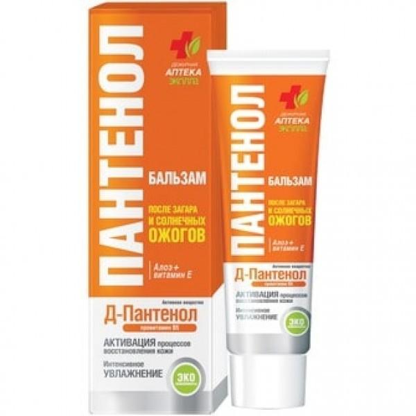 БИОКОН ПАНТЕНОЛ после загара Бальзам от солнечных ожогов Алоэ и Витамин Е90млБИОКОН<br>Благодаря<br> высокому содержанию пантенола бальзам быстро и эффективно успокаивает <br>кожу и уменьшает последствия солнечного воздействия. Экстракт алоэ и <br>витамин Е стимулируют восстановление кожи, устраняют неприятные ощущения<br> после загара. Легкая гелевая формула бальзама отлично увлажняет кожу.<br>Состав:<br>Вода, D-пантенол, циклометикон, ПЭГ-400, глицерин, карбомер, цетеарет, экстракты алоэ, календулы, натрий гидроксид, парфюмерная композиция, бисаболол, ментол, диазолидинилмочевина, метилпарабен, пропилпарабен, витамин Е, гидроксицитронеллаль, бензилсалицилат, гераниол, бутилфенилметилпропионал, цитронеллол, лимонен.<br><br>Вес г: 140<br>Бренд: Биокон<br>Объем мл: 90<br>Тип средства: бальзам, после загара<br>Назначение: для лица и тела<br>Страна производитель: Украина