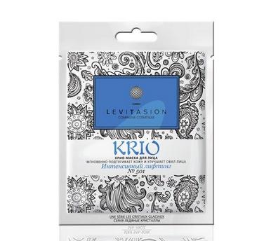 VILENTA Levitasion KRIO-маска тканевая №501 Интенсивный лифтинг мгновенно подтягивает кожуVilenta<br>Levitasion Крио-маска для лица Сияние цвета мгновенно подтягивает кожу, улучшает овал лица.<br> KRIO-комплекс обладает сильным охлаждающим эффектом и обеспечивает <br>длительное ощущение свежести в сочетании с противовоспалительными <br>свойствами, снимает отечность и тонизирует кожу. Аминокислоты и экстракт<br> Имбиря обладают увлажняющими, регенерирующими, защитными свойствами. <br>Маска мгновенной красоты  идеально подходит для кожи, потерявшей тонус и<br> жизненную энергию. Надолго обеспечивает коже лифтинг-эффект.<br><br>Вес г: 50<br>Бренд : Vilenta<br>Объем мл: 30<br>Тип кожи : все типы кожи<br>Консистенция маски : тканевая<br>Часть лица : лицо<br>По времени суток : дневной уход<br>Назначение маски : увлажняющая, восстанавливающая, противовоспалительная, подтягивающая<br>Страна производитель : Китай