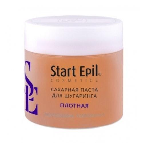 Start Epil Сахарная паста для депиляции Плотная 750грStart Epil<br>Сахарная паста для шугаринга предназначена для мануальной техники депиляции. Рекомендована для использования в тёплых помещениях, а также в помещениях со средней температурой. Сахарная паста не травмирует живые клетки кожи, деликатно удаляя волосы 2-5 мм. Волосы становятся более тонкими и ослабленными. Диаметр уменьшается на 50%. Последующие процедуры депиляции становятся менее болезненными и понадобятся все реже и реже.<br><br>Вес г: 750<br>Бренд: Start Epil<br>Объем мл: 700