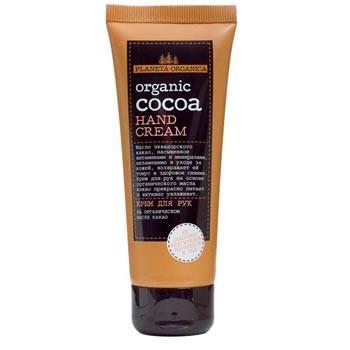 Planeta Organica Крем для рук Organic CocoaPlaneta Organica<br>Крем для рук на основе органического масла эквадорского какао обеспечит ежедневное питание и активное увлажнение. Мгновенно впитывается и защищает кожу Ваших рук, сохраняя молодость и красоту.<br><br>Вес г: 90<br>Бренд : Planeta Organica<br>Объем мл: 75<br>Средство для рук : крем<br>Страна производитель : Россия
