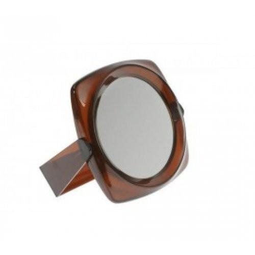 Sibel Зеркало настенное13 см пластиковый корпусSibel<br>Зеркало настольное косметическое 2 стороны 13 см коричневое. Зеркало настольное Sibel 0130637-15 оправа из пластика. Одна сторона с увеличением. Цвет: коричневый. Диаметр 13 см.<br><br>Вес г: 80<br>Бренд: Sibel