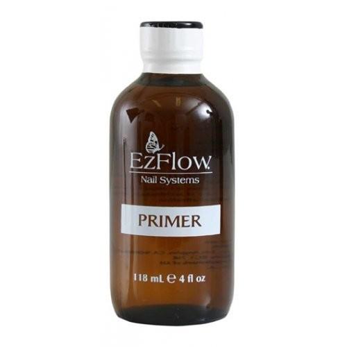 Ezflow Праймер 118 млEzflow<br>Праймер способствует более крепкому сцеплению между натуральным и искусственным ногтем. Предотвращает отслаивание искусственных ногтей. Праймер необходимо использовать в очень небольших количесвах и избегать попадания на кожу. Совместим с любой технологией.<br><br>Вес г: 168<br>Бренд: Ezflow<br>Объем мл: 118