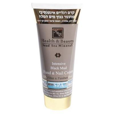 Health&amp;Beauty Крем для рук интенсивный на основе грязи Мертвого моряHealth&amp;Beauty<br>Минералы Мертвого моря восстанавливает и смягчают кожу укрепляет ногти, препятствуя их расслоению. Оливковое масло размягчает и разглаживает кожу. Благодаря высокой концентрации витаминов крем омолаживает кожу и осветляет пигментные пятна.<br><br>Вес г: 150<br>Бренд: Health &amp; Beauty<br>Объем мл: 100<br>Средство для рук: крем<br>Страна производитель: Израиль