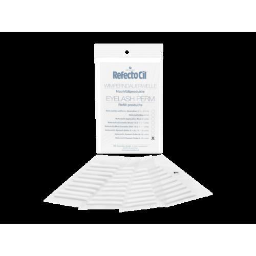 Refectocil Ролик для хим.завивки ресниц размер M 36 шт.Refectocil<br>Химзавивка для ресниц. С коллагеном и цистеином. Обеспечивает уход за ресницами уже в процессе обработки, мягко придает им форму, которая держится до 6 недель. Благодаря применению перманента для ресницRefectoCilнеобходимое для последующего крашения время с использованием краски для бровей и ресницRefectoCilсокращается до 2 минут. Химическая завивка отRefectoCilс коллегам и цистеином придаёт Вашим ресницам замечательный завиток, что делает Ваши глаза более большими и выразительными!<br><br>Вес г: 50<br>Бренд: RefectoCil
