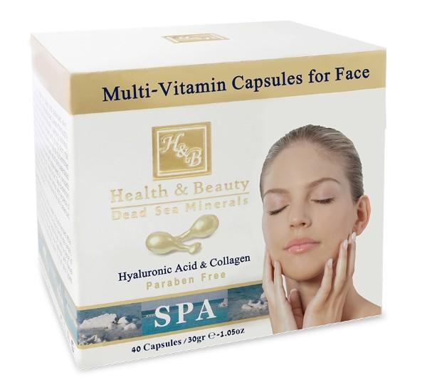 Health&amp;Beauty Капсулы мультивитаминные для шеи и зоны декольтеHealth&amp;Beauty<br>Шея и область декольте в первую очередь подвержены процессам старения и солнечному облучению, поэтому нуждаются в особом уходе. Капсулы оказывают омолаживающее воздействие на нежную кожу области декольте и шеи, предотвращают сухость и придают упругость Вашей коже. Мультивитаминные капсулы увлажняют кожу шеи и зоны декольте, оставляя ощущение гладкости и шелковистости. Коллаген и гиалуроновая кислота подтягивают и укрепляют кожу. Капсулы содержат масло авокадо, шиповника, масло Ши и масло арганы, которые питают Вашу кожу. Также в состав продукта входят витамин Е , масла календулы и виноградной косточки, богатые антиоксидантами для защиты кожи от преждевременного старения.<br><br>Вес г: 70<br>Бренд: Health &amp; Beauty<br>Страна производитель: Израиль