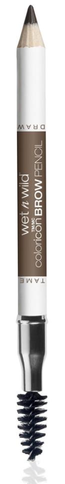 Wet n Wild Карандаш для бровей Color Icon Brow Pencil (E6231 brunettes do it better)Карандаш для бровей с щеточкой, прокрашивает, придает бровям нужную форму.Способ применения:<br>аккуратно нанести на бровь.<br>Состав:<br>era Alba, Copernicia Cerifera Cera, Ceresin, Petrolatum, Ricinus Communis Seed Oil, Phenoxyethanol, Sorbic Acid, Iron Oxides/CI 77491, CI 77499, Yellow 5 Lake/CI 19140, Chromium Oxide Greens/CI 77288, Titanium Dioxide/CI 77891<br><br>Вес г: 37<br>Бренд : Wet&amp;Wild<br>Тип средства для бровей : карнадаш с щеточкой<br>Объем мл: 5<br>Страна производитель : Китай