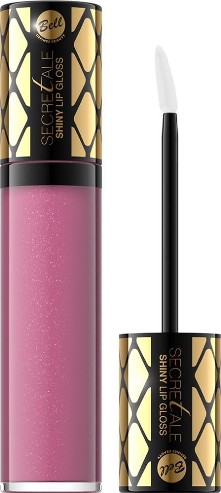 Bell Блеск для губ Увлажняющий Secretale Shiny Lip Gloss (04 розовый)Bell<br>Кондиционирующие вещества увлажняют и смягчают их эпидермис. Блеск наносится нежно и приятно. Продукт равномерно покрывает губы блестящим, как капли воды, цветом. Благодаря стойкой формуле, этим эффектом можно наслаждаться очень долго.<br>Руководство по выбору:<br>Для получения блестящего, глянцевого цвета.Способ применения:<br>Нанести тонким слоем на губы с помощью аппликатора. Для более яркого цвета, рекомендуется повторное нанесениеОсобенности состава:<br>Кондиционирующие вещества увлажняют и смягчают поверхность губ, обеспечивают стойкость цвета<br>Состав:<br>Ingredients: Polybutene, Paraffinum Liquidum (Mineral Oil), Diisostearyl Malate, Isostearyl Isostearate, Pentaerythrityl Tetraisostearate, Octyldodecanol, Ethylene/Propylene/Styrene Copolymer, Butylene/Ethylene/Styrene Copolymer, Isopropyl Palmitate, Ethylhexyl Methoxycinnamate (Octinoxate), Glyceryl Caprylate, BHT, Parfum (Fragrance), Hexyl Cinnamal, Linalool<br><br>Вес г: 55<br>Бренд : Bell<br>Форма блеска : с кисточкой<br>Вид блеска : глянцевый<br>Объем мл: 4<br>Страна производитель : Польша