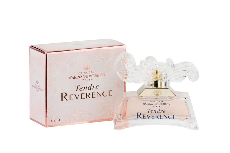 Princesse Marina De Bourbon Paris Tendre Reverence Парфюмерная вода 30 млMarina De Bourbon<br>Руководство по выбору:<br>При выборе обратите внимание на вид аромата и ноты, прислушайтесь к своим эмоциям.<br>Описание:<br>ФЛАКОН: Tendre Reverence – вступление в уникальную чарующую вселенную. Выполненный в стиле комплекса в Версале, главного фамильного дворца, аромат Tendre Reverence пробуждает ощущения мягкой сладости жизни, наполненной историей и воспоминаниями. Парфюм отражает богатство и элегантность вселенной принцессы, а ароматы, созданные ею, воплощают мир гармони, спокойствия и нежности ее снов. Несколько прикосновений этого аромата перенесут вас сквозь время. Потрясающая эпоха, синоним сладости, изысканной деликатности и женственности, выраженных с помощью аромата. АРОМАТ: Утонченный, сладкий и изысканный Tendre Reverence это сказочный букет, олицетворяющий женственную красавицу, сохранившую свою молодость и романтичность. Волна свежести встречается с цветочными нотами в этом новом цветочно-фруктовом аромате. Tendre Reverence раскрывает аромат, наполненный эмоциями и чувственностью. Парфюм обладает мягким и одновременно искрящимся сладким характером, излучает женственность и удивляет; обволакива<br>Мнение эксперта:<br>Парфюм отражает богатство и элегантность вселенной принцессы, а аромат, создан ею, воплощают мир гармонии, спокойствия и нежности ее снов Мария Беннет, парфюмер<br>Особенности состава:<br>Нежный, фруктовый, романтичный аромат.<br>Состав:<br>Состав: ALCOHOL DENAT. , PARFUM (FRAGRANCE), AQUA (WATER), BUTYLPHENYL METHYLPROPIONAL, ETHYLHEXYL METHOXYCINNAMATE, BUTYL METHOXYDIBENZOYLMETHANE, ETHYLHEXYL SALICYLATE, ALPHA-ISOMETHYL IONONE, BENZYL SALICYLATE, CITRAL, CITRONELLOL, HEXYL CINNAMAL, LIMONENE, LINALOOL, CI 17200 (RED 33), CI 19140 (YELLOW 5).<br><br>Вес г: 185<br>Бренд : Marina de Bourbon<br>Объем мл: 30<br>Возраст : 14+<br>Страна производитель : Франция<br>Вид Аромата : Цветочнo, Фруктовый, Мускусный<br>Шлейф : Сандал, мускус, ваниль<br>Верхня