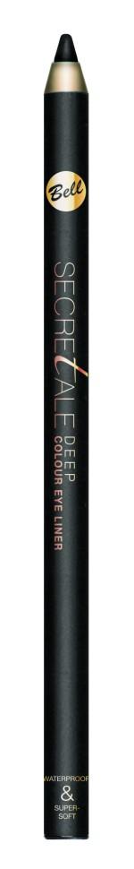 Bell Карандаш для глаз водостойкий Secretale Eye Pencil (1 черный)Карандаш для глаз придает взгляду выразительность, привлекательность, а также позволяет получить насыщенный и модный цвет. Водостойкий и невероятно мягкий карандаш, придающий соблазнительную форму глазам. Карандаш доступен в четырех привлекательных цветах. Любители традиционного макияжа, могут выбрать традиционные оттенки, а те, кто любит поэкспериментировать, могут подобрать более экстравагантные цвета. Идеально подходит для макияжа smoky eye. Карандаш наносится легко и удобно.<br>Руководство по выбору:<br>Для четких, мягких линий, эффектного макияжа и ровного водостойкого результата!Способ применения:<br>Нанесите карандаш на верхнее и нижнее веко. При необходимости, растушуйте<br>Особенности состава:<br>Водостойкий и невероятно мягкий<br>Состав:<br>Ingredients: Ethylhexyl Isostearate, Polymethyl Methacrylate, Neopentyl Glycol Diethylhexanoate, Candelilla Cera (Euphorbia Cerifera (Candelilla) Wax), Copernicia Cerifera Cera (Copernicia Cerifera (Carnauba) Wax), Boron Nitride, Ceresin, Paraffin, Tocopherol, Ascorbyl Palmitate, [may contain +/- Mica, CI 77266 (nano) (Black 2), CI 77491, CI 77492, CI 77499 (Iron Oxides), CI 77510 (Ferric Ferrocyanide)]<br><br>Бренд : Bell<br>Тип карандаша : водостойкий<br>Объем мл: 4<br>Страна производитель : Польша
