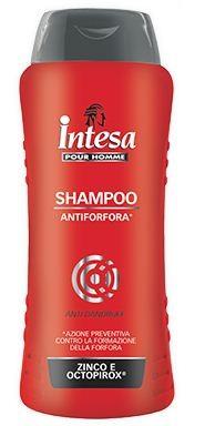 Intesa шампунь с пантенолом для всех типов волос  300 млIntesa<br>Шампунь разработан специально для мужчин. Обогащён природными минералами (железо, кальций, магний, марганец), которые укрепляют капиллярные волокна волос и благоприятно влияют на их натуральное здоровье. Пантенол, входящий в состав шампуня, обладает повышенной увлажняющей и кондиционирующей активностью.  Мягко очищает волосы, придавая им шелковистость, блеск и великолепный вид. Идеален для частого применения. На основе нейтрального pH.<br><br>Вес г: 350<br>Бренд: Intesa<br>Объем мл: 300<br>Страна производитель: Италия