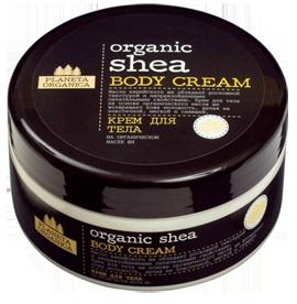 Planeta Organica Крем для тела Organic SheaPlaneta Organica<br>Крем для тела Planeta Organica на основе органического масла кенийского ши способен вернуть молодость Вашей коже, делая ее более эластичной, мягкой и сияющей. Помогает в профилактике ранних морщин.Преимущества данного продукта: Не содержит синтетических красителей Не содержит SLS, парабенов.Не тестируется на животных. Концептуально новая упаковка европейского дизайна.Состав: Aqua, Butyrospermum Parkii органическое масло Ши, Glyceryl Stearate, Cocoglycerides, Sodium Stearoyl Glutamate, Octyldodecanol, Glycerin, Glyceryl Stearate Citrate, Viburnum Prunifolium Oil масло калины, Amaranthus Caudatus Oil масло амаранта, tocopherol, Hydrolyzed Wheat Protein, Parfum, Citric Acid, Benzyl Alcohol, Benzoic Acid, Sorbic Acid.<br><br>Вес г: 350<br>Бренд : Planeta Organica<br>Объем мл: 300<br>Страна производитель : Россия