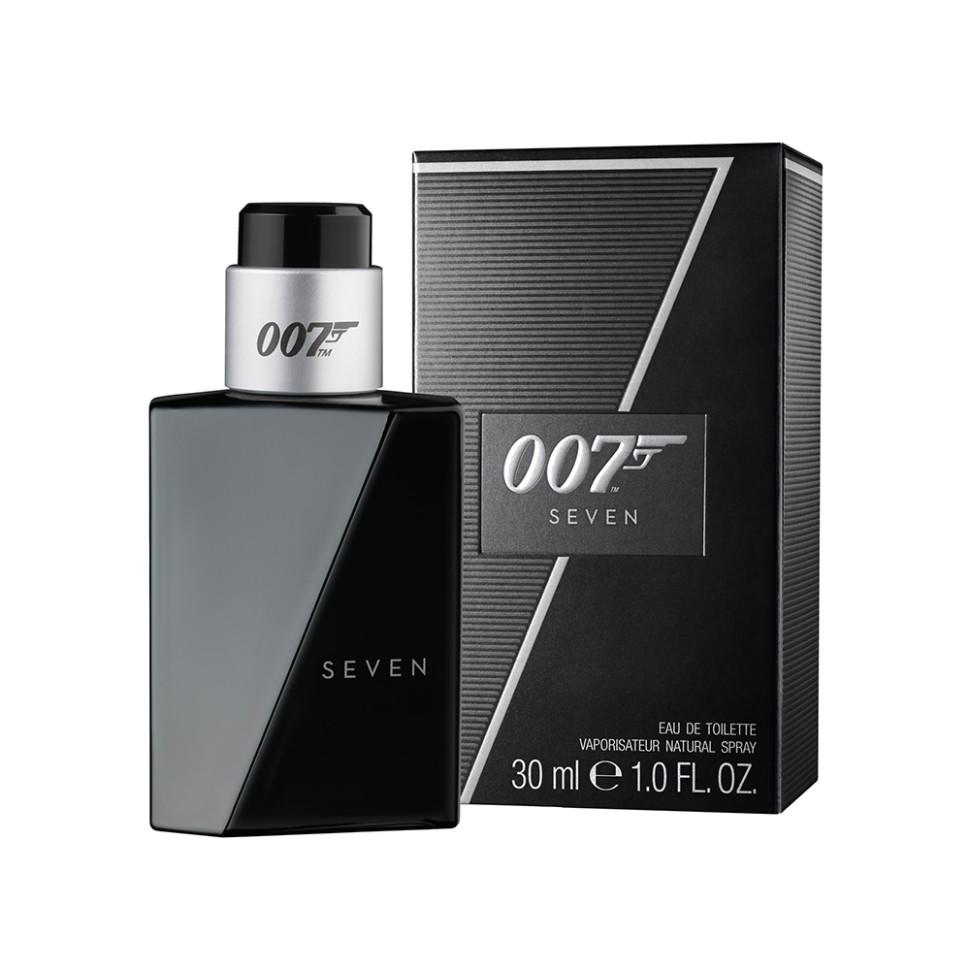 James Bond Seven Туалетная вода 30 млJames Bond<br>Руководство по выбору:<br>Дневной и вечерний аромат<br>Описание:<br>Мужественность и сила агента 007, вызывающие восхищение у поклонников, послужили вдохновением для создания премиального аромата SEVEN. Бережно подобранные ноты композиции дополнены простой и элегантной формой флакона. Верхние ноты открываются сладким мандарином, дополненным энергичным бергамотом и свежим яблоком. Сердце наполнено пробуждающими и волнующими специями: корицей, шафраном и белым перцем. Гладкий янтарь, ваниль и мускус в сочетании с карамелью формируют базу аромата, а ноты кожи, красного дерева, кедра и сандала завершают композицию.<br>Мнение эксперта:<br>Яркое отражение секретного агента, который скрывается в каждом мужчине<br>Особенности состава:<br>Новая грань тайны от агента 007. Мускус и красное дерево<br>Состав:<br>Alcohol Denat., Aqua (Water), Parfum (Fragrance)<br><br>Вес г: 30<br>Бренд : James Bond<br>Объем мл: 30<br>Возраст : 18+<br>Страна производитель : Германия<br>Вид Аромата : Фруктовый<br>Шлейф : янтарь, ваниль и мускус<br>Верхняя Нота : Мандарин, Бергамот, Яблоко<br>Верхняя Нота : Мандарин, Бергамот, Яблоко