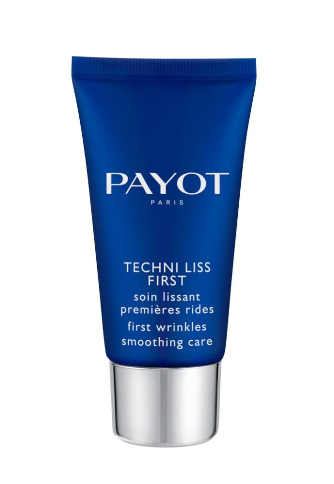 Payot Techni Liss Крем для коррекции первых морщин 50 млPayot<br>Крем для любого типа кожи разглаживает первые морщины, возвращает коже тонус; увлажняет и смягчает кожу.<br>Способ применения:<br>Наносите крем утром на очищенную кожу лица и шеи.<br>Состав:<br>AQUA (WATER), CAPRYLIC/CAPRIC TRIGLYCERIDE, GLYCERIN, BUTYLENE GLYCOL, BENZIMIDAZOLE DIAMOND AMIDOETHYL UREA CARBAMOYL PROPYL POLYMETHYLSILSESQUIOXANE, BUTYROSPERMUM PARKII (SHEA BUTTER), CETEARYL ISONONANOATE, ISODECYL NEOPENTANOATE, PROPYLHEPTYL CAPRYLATE, TRIMETHYLOLPROPANE TRICAPRYLATE/TRICAPRATE, DICAPRYLYL CARBONATE, PENTAERYTHRITYL DISTEARATE, POLYMETHYL METHACRYLATE, PTFE, STEARETH-2, STEARETH-21, DIMETHICONE, CETYL ALCOHOL, PHENOXYETHANOL, PARFUM (FRAGRANCE), CHLORPHENESIN, POLYACRYLATE-13, ETHYLHEXYL STEARATE, ASCORBYL TETRAISOPALMITATE , TOCOPHERYL ACETATE, ACRYLATES/C10-30 ALKYL ACRYLATE CROSSPOLYMER , POLYISOBUTENE, O-CYMEN-5-OL, PENTYLENE GLYCOL , ALGAE EXTRACT, SMITHSONITE EXTRACT, HIBISCUS ABELMOSCHUS SEED EXTRACT , POLYGLYCERYL-4 DIISOSTEARATE/POLYHYDROXYSTEARATE/SEBACATE, SODIUM HYALURONATE CROSSPOLYMER, SODIUM ISOSTEARATE, ZEA MAYS (CORN) KERNEL EXTRACT, POLYSORBATE 20, SODIUM HYDROXIDE, SORBITAN ISOSTEARATE, XANTHAN GUM, TOCOPHEROL<br><br>Вес г: 106<br>Бренд : Payot<br>Объем мл: 50<br>Тип кожи : все типы кожи<br>Консистенция : крем<br>Тип крема : увлажняющий, питательный, антивозрастной, восстанавливающий<br>Возраст : 25+, 30+<br>Эффект : выравнивание, эластичность, сокращает морщины<br>По времени суток : дневной уход, ночной уход<br>Страна производитель : Франция