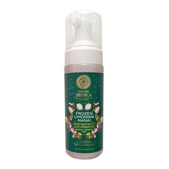 Натура Сиберика Мусс  для умывания Энергия и свежесть кожи 150 мл.Гели и пенки<br>Нежный мусс для умывания, обогащенный натуральными экстрактами и маслами целебных растений Сибири, эффективно очищает кожу от загрязнений и макияжа, освежает и заряжает энергией. Экстракт лимонника нанайского обладает мощным тонизирующим и адаптогенным действиями, насыщает кожу витаминами и микроэлементами, дарит здоровье и красоту. Экстракты донника и герани сибирской оказывают антисептическое и противовоспалительное действия. Экстракты жасмина и ириса сибирского глубоко очищают и успокаивают кожу, делая ее более гладкой и шелковистой. Органическое масло кедровых орехов богатое Омегз-3 и Омега-6, глубоко питает и смягчает кожу. Масло косточек малины дарит интенсивное увлажнение. Экстракт родиолы розовой восстанавливает естественные защитные и регенеративные функции кожи. Экстракт цветов дамасской розы повышает защитные свойства кожи, дарит мягкость и нежность.<br><br>Вес г: 170<br>Бренд : Натура Сиберика<br>Объем мл: 150<br>Тип кожи : все типы кожи<br>Вид очищающего средства : мусс<br>Страна производитель : Россия
