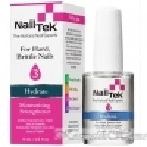 Nail Tek HYDRATE-3 увлажняющая сыворотка для сухих, ломких ногтей 15млNail tek<br>Для быстрого и эффективного восстановления влажности и полноценного ухода за сухими, ломкими ногтями.<br>ВитаминЕ и кальцийобеспечивают питание клеток (деликатное воздействие).<br>Специально разработанная активная формула покрытия сПентавитиномвосстанавливает влажность обезвоженных ногтей.<br>Способствует росту крепких и здоровых ногтей.<br>Рекомендуетсяпосле снятиямоделирующихсредств (гель, гель-лак, акрил).<br><br>Вес г: 30<br>Бренд: Nail Tek<br>Объем мл: 15