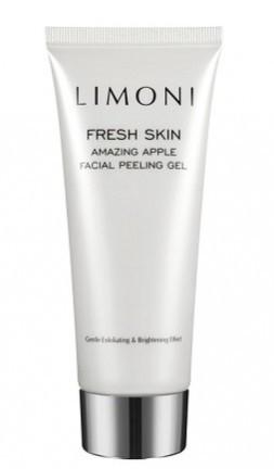 Limoni Пилинг-гель для лица яблочный Amazing Apple Facial Peeling GelУход для лица<br>Гель-пилинг<br> для лица на основе фруктовых кислот и яблочного экстракта. Мягко <br>удаляет омертвевшие клетки кожи и излишки секреции сальных <br>желез,осветляет тусклый цвет лица. Стимулирует обновление клеток,улучшая микро-рельеф кожи.<br><br>Вес г: 130<br>Бренд : Limoni<br>Объем мл: 100<br>Тип кожи : все типы кожи<br>Вид очищающего средства : гель<br>Страна производитель : Италия