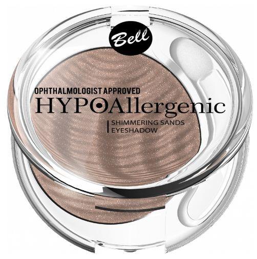 Bell Hypoallergenic кремовые тени для век Shimmering Sands Eyeshadow (Тон 05)Bell<br>Гипоаллергенные кремовые тени для векОсветленная и сияющая кожа – это самый популярный тренд ближайших сезонов. Гипоаллергенные, бархатистые тени с металлическим блеском идеально вписываются в него. Кремовая текстура способствует чрезвычайно приятному нанесению косметики. Тени обеспечивают прекрасный, интенсивно крощий и глубокий цвет, полный цветовых рефлексов. Придают нежный эффект и стойкий цвет, благодаря этому взгляд остается выразительным и осветленным в течение долгого времени.<br><br>Вес г: 15<br>Бренд : Bell<br>В комплекте : аппликатор<br>Способ нанесения : влажный<br>Эффект на веках : перламутровый<br>Тип теней : кремообразные<br>Страна производитель : Польша