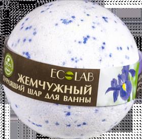 Ecolab Бурлящий шар для ванны Ирис и ПассифлораДля тела<br>Шар для ванны бурлящий Ирис и Пассифлора.<br><br>Активные ингредиенты: жемчужная соль, масло ириса, экстракт пассифлоры.<br>- Ирис -<br> это природный эликсир молодости, который позволяет предупредить <br>появление морщин, улучшает цвет лица, помогает восстанавливать <br>эластичность и упругость кожи. Также обладает противовоспалительными <br>свойствами. Его используют для ухода за проблемной кожей и борьбы с <br>акне. Экстракт ириса помогает надолго сохранить влагу.<br>- Пассифлора чрезвычайно<br> полезна. Она улучшает гидратацию, упругость и тонус кожи. Обладает <br>противозудными, антибактериальными и противовоспалительными свойствами, <br>может снимать мышечное напряжение и является хорошим релаксантом.<br>Продукт не содержит силиконов и парабенов.<br>Состав: Sodium<br> bicarbonate, Citric Acid, органическое масло Виноградных косточек, <br>масло Ириса, Aqua, экстракт Пассифлоры, ароматическое масло, Cl73360, <br>Mica.<br>Способ применения: опустите<br> шар в теплую воду, дождитесь полного растворения, принимайте ванну при <br>температуре 37-38 С в течение 10 минут. Не используйте гели для душа или<br> мыло, чтобы не смывать с кожи масла.Вес: 220гр.<br><br>Вес г: 220<br>Бренд : Ecolab<br>Страна производитель : Россия