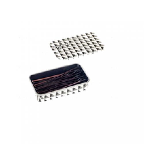 Sibel Невидимки коричневые для больших прядей 54 мм (24 шт.)Sibel<br>Невидимки коричневого цвета Y.S. Park YS-821 со специальным дизайном для захвата толстых прядей.<br>Длина невидимок - 54 мм, в упаковке 24 шт.<br>Вид:прямые<br>Размер:54 мм<br>Производитель:Y.S.Park<br>Товар:невидимки<br>Цвет:коричневый<br><br>Вес г: 20<br>Бренд: Sibel