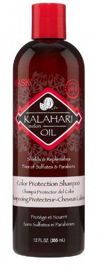 HASK Кондиционер для защиты цвета с маслом дыни Калахари 355млHask<br>Кондиционер для защиты цвета с маслом дыни Калахари защищает от сухости и потускнения цвета, делает волосы увлажненными и сияющими.Способ применения:Нанесите кондиционер по всей длине волос, уделяя особое внимание кончикам. Оставьте на 3-5 минут. Тщательно смойте. Для достижения наилучшего результата используйте вместе с другими продуктами марки HASK.Состав:Water/Eau (Aqua), Cetyl Alcohol, Behentrimonium Chloride, Isopropyl Palmitate, Glycerin, Cyclomethicone, Citrullus Lanatus (Kalahari Melon) Seed Oil, Vaccinium Macrocarpon (Cranberry) Seed Oil, Helianthus Annuus (Sunflower) Seed Oil, Cocos Nucifera (Coconut) Oil, Olea Europaea (Olive) Fruit Oil, Butyrospermum Parkii (Shea) Butter, Cinnamidopropyltrimonium Chloride*, Benzophenone-4, Castanea Sativa (Chestnut) Seed Extract, Hydrolyzed Soy Protein, Dimethicone, Panthenol,  Octyl Methoxycinnamate, Citric Acid, Phenoxyethanol, Cetearyl Alcohol, Cetrimonium Chloride, Stearyl Alcohol, Fragrance/Parfum (*Colour Shield Complex)<br><br>Вес г: 405<br>Бренд : HASK<br>Объем мл: 355<br>Тип волос : окрашенные<br>Действие : сохранение цвета<br>Тип средства для волос : кондиционер<br>Страна производитель : США