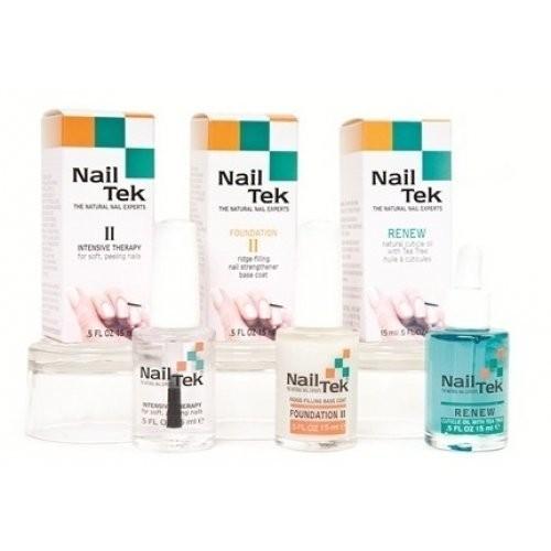 Nail Tek RESTORE DAMAGED NAILS KIT набор средств для сухих, твердых и ломких ногтейNail tek<br>Идеально подходит для восстановления натуральных ногтей (мягких, тонких и слоящихся) после снятия искусственных - нарощенные, гель-лак.<br><br>Вес г: 30<br>Бренд: Nail Tek<br>Объем мл: 15
