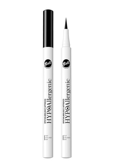 Bell Hypoallergenic подводка-фломастер перманентная Tint Eyeliner PenBell<br>ГИПОАллергенная перманентная подводка?фломастер  Новая жидкая полуперманентная подводка для глаз – это революция в косметике! Стойкая 24-часовая формула выглядит идеально в любых условиях, не стирается и не размазывается. Входящие в состав красители, равномерно выделяют макияж глаз, а длинный, тонкий наконечник позволяет сделать ровные стрелки интенсивного цвета.<br><br>Вес г: 20<br>Бренд : Bell<br>Тип подводки : фломастер, водостойкая<br>Страна производитель : Польша