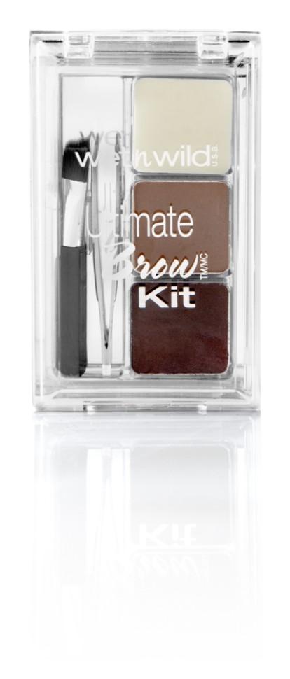 Wet n Wild Набор для бровей Ultimate Brow Kit Набор E963 ash brownWet n Wild<br>Включает в себя встроенное зеркало. Ты можешь на ходу подправить макияж!Способ применения:<br>аккуратно аппликатором нанести на брови тени для бровей и зафиксировать результат гель-воском для бровей<br>Состав:<br>Talc, Zinc Stearate, Nylon-12, Octyldodecyl Stearoyl Stearate, Lauroyl Lysine, Pentaerythrityl Tetraethylhexanoate, HDI/Trimethylol Hexyllactone Crosspolymer, Caprylyl Glycol, Caprylhydroxamic Acid, Glycerin, Tocopheryl Acetate, Silica, PTFE, [+/- (MAY CONTAIN): Bismuth Oxychloride/CI 77163, Iron Oxides/CI 77491, CI 77492, CI 77499, Mica, Titanium Dioxide/CI 77891, Ultramarines/CI 77007]. Состав гель-воск для бровей: Ricinus Communis (Castor) Seed Oil, Euphorbia Cerifera (Candelilla) Wax/Candelilla Cera, Octyldodecanol, Ozokerite, Caprylic/Capric Triglyceride, Isopropyl Myristate, Microcrystalline Wax/Cera Microcristallina, Copernicia Cerifera (Carnauba) Wax/Copernicia Cerifera Cera, Simmondsia Chinensis (Jojoba) Seed Oil, Phenoxyethanol, Lavandula Angustifolia (Lavender) Oil, Tocopheryl Acetate, Ethylhexylglycerin, Sorbic Acid, Tocopherol.<br><br>Вес г: 72<br>Бренд : Wet&amp;Wild<br>Тип средства для бровей : набор<br>Объем мл: 2<br>Страна производитель : Китай