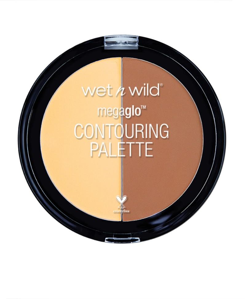 Wet n Wild Набор для контуринга Megaglo Contouring Palette Contour (E7501 caramel toffee)Wet n Wild<br>Cкульптурирующая прессованная - пудра визуально корректирует рельеф лица для мгновенного преобразования. Рассыпчатая текстура способствует легкому нанесению без дополнительных инструментов, обеспечивая длительный и стойкий результат.Способ применения:<br>аккуратно нанести на лицо, растушевать пальцами или специальной кистью.<br>Состав:<br>Talc, Nylon-12, Mica, Boron Nitride, Aluminum Starch Octenylsuccinate, Ethyl Macadamiate, Dimethicone, Magnesium Myrestate, Synthetic Fluorphlogopite, Phenoxyethanol, Trimethylsiloxysilicate, Lauroyl Lysine, Caprylyl Glycol, Polybutene, Hexylene Glycol, Ethylhexylglycerin, Tocophenol, o-Cymen-5-ol, Methicone (in shade E7491), [+/- (может содержать: Iron Oxides/Cl 77491, Cl 77492, Cl 77499, Titanium Dioxide/Cl 77891, Red 40 Lake/Cl 16035,Yellow 5 Lake/Cl 19140, Ultramarines/Cl 77007]. 0815<br><br>Вес г: 60<br>Бренд : Wet&amp;Wild<br>Объем мл: 12<br>Вид корректора : сухой<br>Страна производитель : Китай