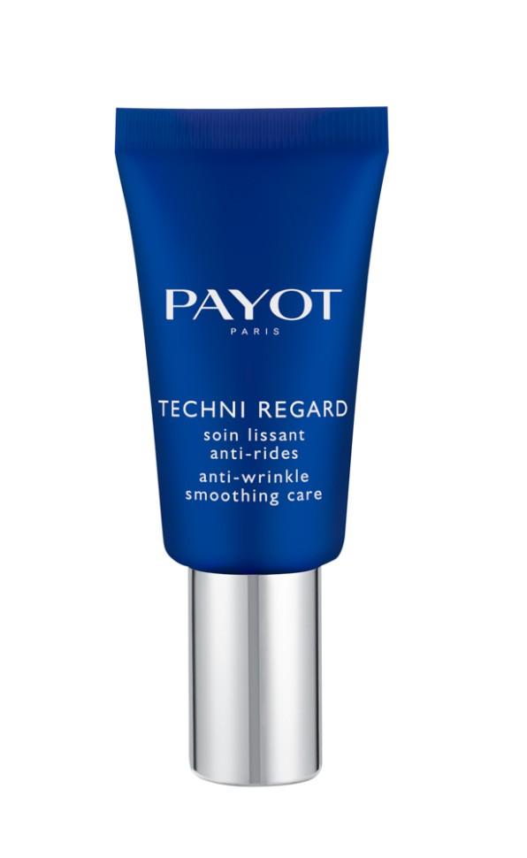 Payot Techni Liss Разглаживающий крем-флюид для контура глаз 15 млPayot<br>Крем-флюид разглаживает гусиные лапки, уменьшает темные круги и припухлости под глазами; возвращает коже свежесть и сияние.<br>Способ применения:<br>Наносите крем-флюид утром и вечером на очищенную кожу области глаз.<br>Состав:<br>AQUA (WATER), ISODODECANE, BUTYROSPERMUM PARKII (SHEA BUTTER), BENZIMIDAZOLE DIAMOND AMIDOETHYL UREA CARBAMOYL PROPYL POLYMETHYLSILSESQUIOXANE, GLYCERIN, CETEARYL ISONONANOATE, BUTYLENE GLYCOL, CETYL ALCOHOL, ISODECYL NEOPENTANOATE, PENTAERYTHRITYL DISTEARATE, POLYMETHYL METHACRYLATE, PTFE, DICAPRYLYL CARBONATE, CAPRYLIC/CAPRIC TRIGLYCERIDE, HYDROXYETHYL ACRYLATE/SODIUM ACRYLOYLDIMETHYL TAURATE COPOLYMER, ETHYLHEXYL STEARATE, STEARETH-2, STEARETH-21, DIMETHICONE/BIS-ISOBUTYL PPG-20 CROSSPOLYMER, MICA, DIMETHICONE, PHENOXYETHANOL, SODIUM DEXTRAN SULFATE, CHLORPHENESIN, CI 77891 (TITANIUM DIOXIDE), PENTYLENE GLYCOL, ASCORBYL TETRAISOPALMITATE, TOCOPHERYL ACETATE, POLYGLYCERYL-4 DIISOSTEARATE/POLYHYDROXYSTEARATE/SEBACATE, SODIUM HYALURONATE CROSSPOLYMER, SODIUM ISOSTEARATE, O-CYMEN-5-OL, HIBISCUS ABELMOSCHUS SEED EXTRACT, ZEA MAYS (CORN) KERNEL EXTRACT, ALGAE EXTRACT, POLYSORBATE 60, SMITHSONITE EXTRACT, SORBITAN ISOSTEARATE, XANTHAN GUM, CITRIC ACID, TOCOPHEROL<br><br>Вес г: 59<br>Бренд : Payot<br>Объем мл: 15<br>Часть лица : глаза<br>Возраст : 25+<br>Вид средства для век : крем, гель/бальзам<br>По времени суток : дневной уход, ночной уход<br>Страна производитель : Франция
