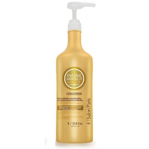 Inoar ABSOLUT Day Moist - кондиционер 1л для очень сухих,поврежденных волосInoar<br>INOAR предлагает скорую помощь для поврежденных волос - ABSOLUT DAY MOIST CLR.<br>INOAR ABSOLUT DAY MOIST CLR входят растительные компоненты, которые повышают эластичность волоса, сохраняя цвет.<br>INOAR ABSOLUT DAY MOIST CLR – свежая линия средств, созданная специально для экстравагантных особ, рискнувших на кардинальные перемены имиджа. Частые эксперименты с цветом и фактурой волос, как правило, приводят к плачевным результатам – волосы тускнеют, ломаются и теряют объем.<br><br>Вес г: 1050<br>Бренд: Inoar<br>Объем мл: 1000