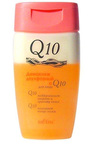Белита Демакияж двухфазный для лицаБелита<br>Очень мягко очищает кожу от косметики и других загрязнений. Кремовая фаза — смягчает и питает кожу, водная фаза — очищает и тонизирует. Подходит для удаления косметики с глаз.Состав: 2-бром-2-нитропропан-1, 3-диол, CI 15985, CI 19140, Бензиловый спирт, метилхлоризотиазолинон, метилизотиазолинон, Вода, Глицерин, Диметикон, Кислота лимонная, Кокоамфодиацетат динатрия, Масло вазелиновое, Масло косточек абрикоса, Масло сезама, ПЭГ-12 диметикон, ПЭГ-40 гидрогенизированное касторовое масло, Парфюмерная композиция, Циклопентасилоксан, Циклогексасилоксан, Этилгексилпальмитат, изопропилмиристат, масло зародышей triticum vulgare пшеницы, токоферилацетат, БГТ.Объем: 150 мл<br><br>Вес г: 170<br>Бренд : Белита<br>Объем мл: 150<br>Тип кожи : все типы кожи<br>Область применения : лицо, глаза<br>Вид средства для демакияжа : двухфазная жидкость<br>Область применения : лицо, глаза<br>Страна производитель : Белоруссия