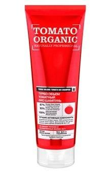 Organic shop шампунь био organic томатный 250млШампуни<br>Органический экстракт томата придает волосам роскошный объем и  укрепляет их структуру. 100% натуральное органическое масло карите питает волосы, не утяжеляя их, защищает от термо и УФ воздействий. Фито-коллаген уплотняет волосы, увеличивая их в объеме. Био экстракт мыльного ореха мягко очищает, делая волосы более густыми, послушными и блестящими. Аргинин укрепляет волосы по всей длине.<br><br>Вес г: 280<br>Бренд: Organic shop<br>Объем мл: 250<br>Тип волос: все типы волос<br>Действие: питание, укрепление, для объема, УФ защита, термозащита<br>Тип средства для волос: шампунь<br>Страна производитель: Россия