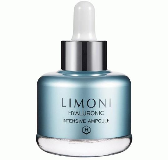 Limoni HYALURONIC ULTRA MOISTURE AMPOULE Сыворотка для лица суперувлажняющая с гиалуроновой кислотойСыворотки и эмульсии<br>Сыворотка содержит большую концентрацию гиалуроновой кислоты (50%), которая, проникая в глубокие слои кожи, прекрасно увлажняет и предотвращает обезвоживание. Формула сыворотки обогащена также соком японской берёзы, который освежает кожу, экстракт ежевики, который насыщает кожу витаминами и придает ей свежий вид. Нежная текстура быстро впитывается и моментально улучшает упругость и эластичность кожи.<br><br>Вес г: 50<br>Бренд : Limoni<br>Объем мл: 25<br>Тип кожи : все типы кожи<br>Консистенция : сыворотка/эмульсия<br>Тип крема : увлажняющий, с гиалуроновой кислотой<br>Возраст : 25+, 30+, 35+<br>Эффект : сияние, эластичность<br>По времени суток : дневной уход<br>Страна производитель : Италия