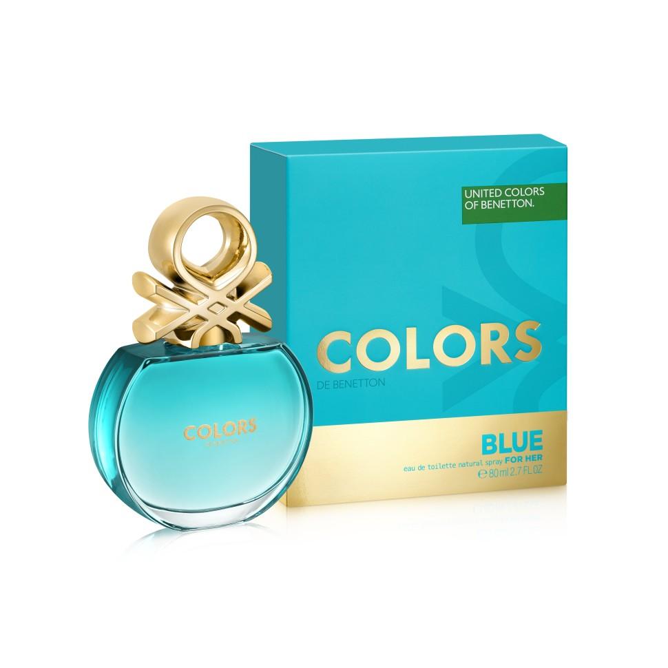Benetton Colors Blue Туалетная вода 80 млBenetton<br>Аромат в бирюзовом флаконе раскрывается яркой, искристой смесью севильского апельсина и энергичного юдзу. Женственные ноты нероли и характерные ноты чая матэ наделяют его элегантностью, подчеркнутой прозрачной фрезией. В базе чистая и чувственная свежесть бобов тонка переплетается с характером кедра и тягучестью мускуса. Аромат с индивидуальностью. Совершенно неотразимый.<br>Особенности состава:<br>Тонизирующие ноты матэ с ломтиком цитрусовых. Бодрящий, яркий, живой<br>Мнение эксперта:<br>Цвет - воплощенный в ароматеСпособ применения:<br>Нанести на кожу, избегая попадания в глаза.<br>Состав:<br>ALCOHOL DENAT., PARFUM (FRAGRANCE), AQUA (WATER), LIMONENE, LINALOOL, COUMARIN, GERANIOL, HYDROXYISOHEXYL 3-CYCLOHEXENE CARBOXALDEHYDE, BUTYLPHENYL METHYLPROPIONAL, CITRAT, BENZYL ALCOHOL,CI 60730 (EXT. VIOLET 2) , CI 19140 (YELLOW5), CI 14700 (RED 4), ALPHA-ISOMETHYL IONONE ALCOHOL OF VEGETAL ORIGIN<br><br>Вес г: 128<br>Бренд : Benetton<br>Объем мл: 80<br>Возраст : 14+<br>Страна производитель : Испания<br>Вид Аромата : Цитрусовый<br>Шлейф : Кедровое дерево, Бобы тонка, Мускусный аккорд<br>Верхняя Нота : Севильский апельсин, Лимон, Юдзу<br>Верхняя Нота : Севильский апельсин, Лимон, Юдзу