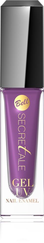 Bell Лак для ногтей - Эффект Геля Secretale Uv Gel Nail Enamel (06 фиолетовый)Первый шаг, чтобы получить эффект гелевых ногтей в замечательных, весенних оттенках. Волшебный, гелевый лак гарантирует прочное и стойкое покрытие. Препарат гладко растекается по ногтевой пластине, придавая ей максимальный гелевый блеск. В сочетании с поверхностным лаком Secretale UV Gel Top Coat очень быстро сохнет, формируя слой, устойчивый к трещинам. Ногти приобретают объем и переливаются игривыми, сочными цветами еще много дней после нанесения.<br>Руководство по выбору:<br>Рекомендуем использовать поверхностный лак TopCoat линии UV Gel для достижения максимального эффекта гелевых ногтей! Линия Uv Gel для тех, кто заботится о здоровье ногтевой пластины! Не требует сушки в лампе.Способ применения:<br>Нанести 1 -2 слоя лака Uv Gel на ногтевую пластину, закрепить результат Uv Gel Top Coat.Особенности состава:<br>В сочетании с поверхностным лаком Secretale UV Gel Top Coat очень быстро сохнет, формируя слой, устойчивый к трещинам. Не требует сушки в лампе<br>Состав:<br>Ingredients: Ethyl Acetate, Butyl Acetate, Nitrocellulose, Acetyl Tributyl Citrate, Adipic Acid/Neopentyl Glycol/Trimellitic Anhydride Copolymer, Isopropyl Alcohol, Stearalkonium Bentonite, Styrene/Acrylates Copolymer, Silica, Benzophenone-1, Diacetone Alcohol, Hydroxyethyl Acrylate/IPDI/PPG-15 Glyceryl Ether Copolymer, Trimethylpentanediyl Dibenzoate, Phosphoric Acid,  [may contain +/- CI 12085 (Red 36), CI 15850 (Red 6 Lake, Red 7 Lake), CI 15880 (Red 34 Lake), CI 19140 (Yellow 5 Lake), CI 42090 (Blue 1 Lake), CI 73360 (Red 30), CI 77007 (Ultramarines), CI 77266 [nano] (Black 2), CI 77491, CI 77499 (Iron Oxides), CI 77510 (Ferric Ammonium Ferrocyanide), CI 77891 (Titanium Dioxide)]<br><br>Вес г: 74<br>Бренд : Bell<br>Объем мл: 6<br>Вид лака : гель-лак<br>Эффект на ногтях : гелевое покрытие<br>Страна производитель : Польша