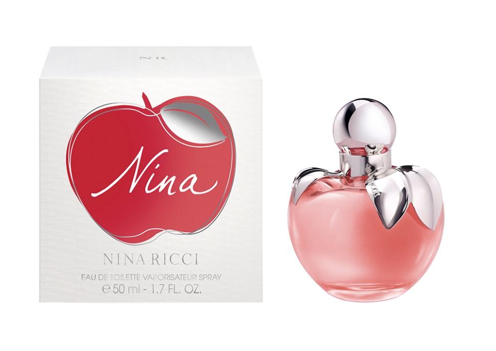 """Nina Ricci Nina Туалетная вода 50 млNina Ricci<br>Аромат Nina от Nina Ricci – это современная сказка, соблазнительная и увлекательная. Нина – прекрасная принцесса. Она приглашает в свою страну чудес, в которой реальность окрашивается в яркие краски мечтаний и фантазий. Аромат торжественно раскрывает свои волшебные ноты. Первый звенящий аккорд, как взрыв смеха - ноты цитруса, усиленные живой свежестью калабрийского лимона и лайма кайперина. Фруктовое карамельное сердце наполнено восторгом его изысканных контрастов. Мягкое и деликатное дуновение бархатных лепестков пиона и лунного цветка, имеющих форму сердца, окутано в изысканную вуаль ванильного пралине и плавно раскрывает базовые ноты. В базовых нотах мягкое и деликатное объятие изящных древесных нот - яблони и белого кедра. Стойкость и притягательность аромату придает нота хлопкового мускуса.<br>Особенности состава:<br>Лайм кайпирина и яблоко в карамельной глазури - аромат юной процессы<br>Мнение эксперта:<br>Однажды юная девушка Nina отправилась на поиски новых чувств, эмоций и волшебного аромата, наделенного чарующей силой""""<br>Состав:<br>ALCOHOL DENAT., PARFUM (FRAGRANCE), AQUA (WATER), ETHYLHEXYL METHOXYCINNAMATE, BUTYL METHOXYDIBENZOYLMETHANE, ETHYLHEXYL SALICYLATE, LIMONENE, BUTYLPHENYL METHYLPROPIONAL, LINALOOL, CITRAL, COUMARIN, ISOEUGENOL ALCOHOL OF VEGETAL ORIGIN<br><br>Вес г: 259<br>Бренд : Nina Ricci<br>Объем мл: 50<br>Страна производитель : Франция<br>Вид Аромата : Лакомый свежий цветочный<br>Шлейф : Древесина яблони, хлопковый мускус<br>Верхняя Нота : Лимон из Калабрии, лайм кайпиринья<br>Верхняя Нота : Лимон из Калабрии, лайм кайпиринья"""