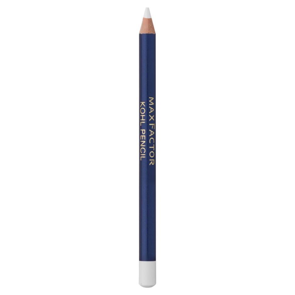 Max Factor Kohl pencil карандаш для глаз (10 белый)Max Factor<br>Благодаря карандашу для глаз Max Factor Kohl Pencil Вы легко и быстро подчеркнете красоту глаз, сделаете их более выразительными. Карандаш имеет мягкую текстуру - очень легко наносится и хорошо растушевывается. Вы можете создавать как сдержанные дневные, так и яркие, сексуальные вечерние макияжи глаз. В сочетании с тенями для век от Max Factor Color Perfection Duo или Earth Spirits, а также тушью для ресниц, карандаш Kohl Pencil выглядит потрясающе.Ваш макияж безупречен и держится в течение всего дня.Способ применения:1. Смотри вниз и осторожно растяни глаз указательным пальцем. 2. Проведи аккуратную мягкую линию вдоль роста ресниц. 3. Карандаша Kohl pencil в сочетании с тушью будет достаточно, чтобы выделить глаза. 4. Наноси карандаш над тенями для более мягкого образа или под тенями, чтобы углубить их цвет. 5. Растушуй линию с помощью ватной палочки для эффекта смоки айз.Состав:Гидрогенизированные коко-глицериды, каолин, глицерил рицинолеат, гидрогенизированное пальмовое масло, полиэтилен, слюда, микрокристалиический воск, пропил-парабен, пигметы<br><br>Вес г: 20<br>Бренд : Max Factor<br>Тип карандаша : деревянный<br>Страна производитель : Италия