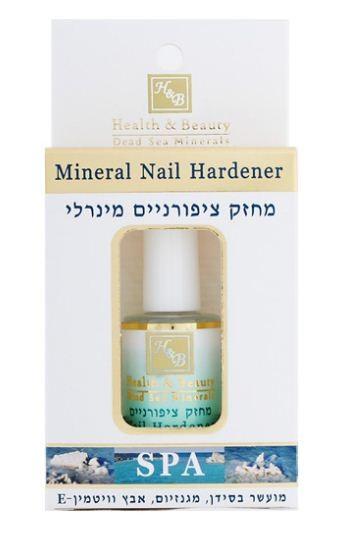 Health&amp;Beauty Средство минеральное для укрепления ногтейHealth&amp;Beauty<br>Укрепляет и восстанавливает ногти, предотвращает их ломку и расслаивание, уменьшает и предотвращает желтизну ногтей.<br><br>Вес г: 35<br>Бренд : Health &amp; Beauty<br>Объем мл: 15<br>Страна производитель : Израиль<br>Тип средства для ногтей : укрепление ногтей