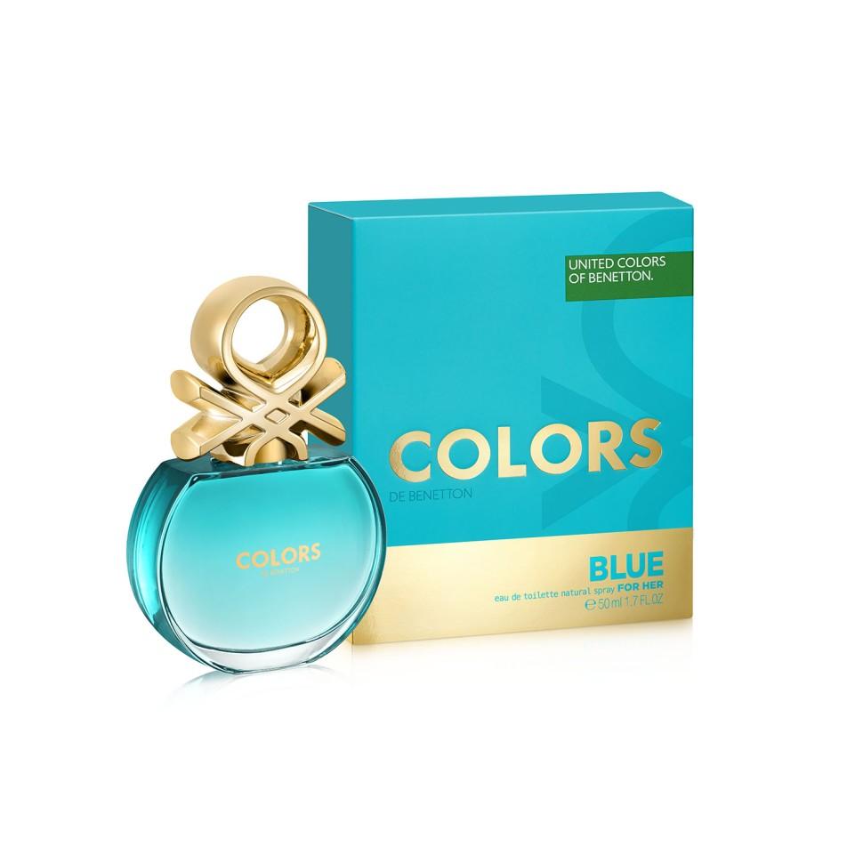 Benetton Colors Blue Туалетная вода 50 млBenetton<br>Аромат в бирюзовом флаконе раскрывается яркой, искристой смесью севильского апельсина и энергичного юдзу. Женственные ноты нероли и характерные ноты чая матэ наделяют его элегантностью, подчеркнутой прозрачной фрезией. В базе чистая и чувственная свежесть бобов тонка переплетается с характером кедра и тягучестью мускуса. Аромат с индивидуальностью. Совершенно неотразимый.<br>Особенности состава:<br>Тонизирующие ноты матэ с ломтиком цитрусовых. Бодрящий, яркий, живой<br>Мнение эксперта:<br>Цвет - воплощенный в ароматеСпособ применения:<br>Нанести на кожу, избегая попадания в глаза.<br>Состав:<br>ALCOHOL DENAT., PARFUM (FRAGRANCE), AQUA (WATER), LIMONENE, LINALOOL, COUMARIN, GERANIOL, HYDROXYISOHEXYL 3-CYCLOHEXENE CARBOXALDEHYDE, BUTYLPHENYL METHYLPROPIONAL, CITRAT, BENZYL ALCOHOL,CI 60730 (EXT. VIOLET 2) , CI 19140 (YELLOW5), CI 14700 (RED 4), ALPHA-ISOMETHYL IONONE ALCOHOL OF VEGETAL ORIGIN<br><br>Вес г: 118<br>Бренд : Benetton<br>Объем мл: 50<br>Возраст : 14+<br>Страна производитель : Испания<br>Вид Аромата : Цитрусовый<br>Шлейф : Кедровое дерево, Бобы тонка, Мускусный аккорд<br>Верхняя Нота : Севильский апельсин, Лимон, Юдзу<br>Верхняя Нота : Севильский апельсин, Лимон, Юдзу