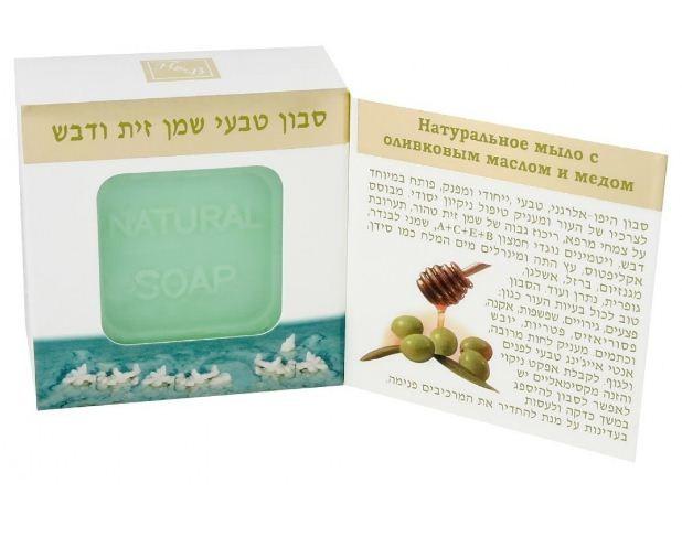 Health&amp;Beauty Мыло натуральное с маслом Оливы и МедомМыло<br>Натуральное гипоаллергенное мыло разработано в соответствии с потребностями кожи и обеспечивает тщательный уход и очистку кожи. Мыло создано на основе лекарственных растений, содержит высокую концентрацию оливкового масла, мёда, витамины С+Е+В5, масло Лаванды, Алоэ Вера и минералы Мёртвого моря такие как калий, кальций, магний, железо, сера, натрий и др. Мыло помогает при различных проблемах кожи: акне, псориаз, грибки, прыщи, раздражения. Хорошо увлажняет кожу.<br><br>Вес г: 125<br>Бренд : Health &amp; Beauty<br>Объем мл: 115<br>Страна производитель : Израиль
