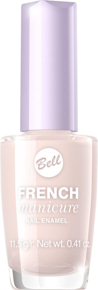 Bell Лак для ногтей устойчивый Гипоаллергенный French Manicure Nail (4 розовый)Bell<br>Натуральный элегантный маникюр! French manicure от Bell - это наиболее простой и эффективный способ создания настоящего французского маникюра. Новейшая коллекция включает 12 деликатных оттенков: 6 из них обогащены серебристыми искорками, другие 5 придают ногтям матовый блеск.Руководство по выбору:<br>Для девушек, которые предпочитают маникюр натуральных оттенков, FrenchСпособ применения:<br>Нанести 1 -2 слоя лака, дать высохнуть 10 минут<br>Особенности состава:<br>Пастельные тона для идеального маникюра<br>Состав:<br>Ingredients: Butyl Acetate, Ethyl Acetate, Nitrocellulose, Acetyl Tributyl Citrate, Isopropyl Alcohol, Adipic Acid/Neopentyl Glycol/Trimellitic Anhydride Copolymer, Acrylates Copolymer, Stearalkonium Bentonite, N-Butyl Alcohol, Styrene/Acrylates Copolymer, Benzophenone-1, Silica, Trimethylpentanediyl Dibenzoate, Polyvinyl Butyral [may contain +/- CI 15850 (Red 6 Lake), CI 19140 (Yellow 5 Lake), CI 77266 (Black 2), CI 77491 (Iron Oxides), CI 77510 (Ferric Ferrocyanide), CI 77891 (Titanium Dioxide), Calcium Aluminum Borosilicate, Calcium Sodium Borosilicate, Tin Oxide]<br><br>Вес г: 76<br>Бренд : Bell<br>Объем мл: 12<br>Вид лака : классичекий<br>Эффект на ногтях : французский маникюр<br>Страна производитель : Польша