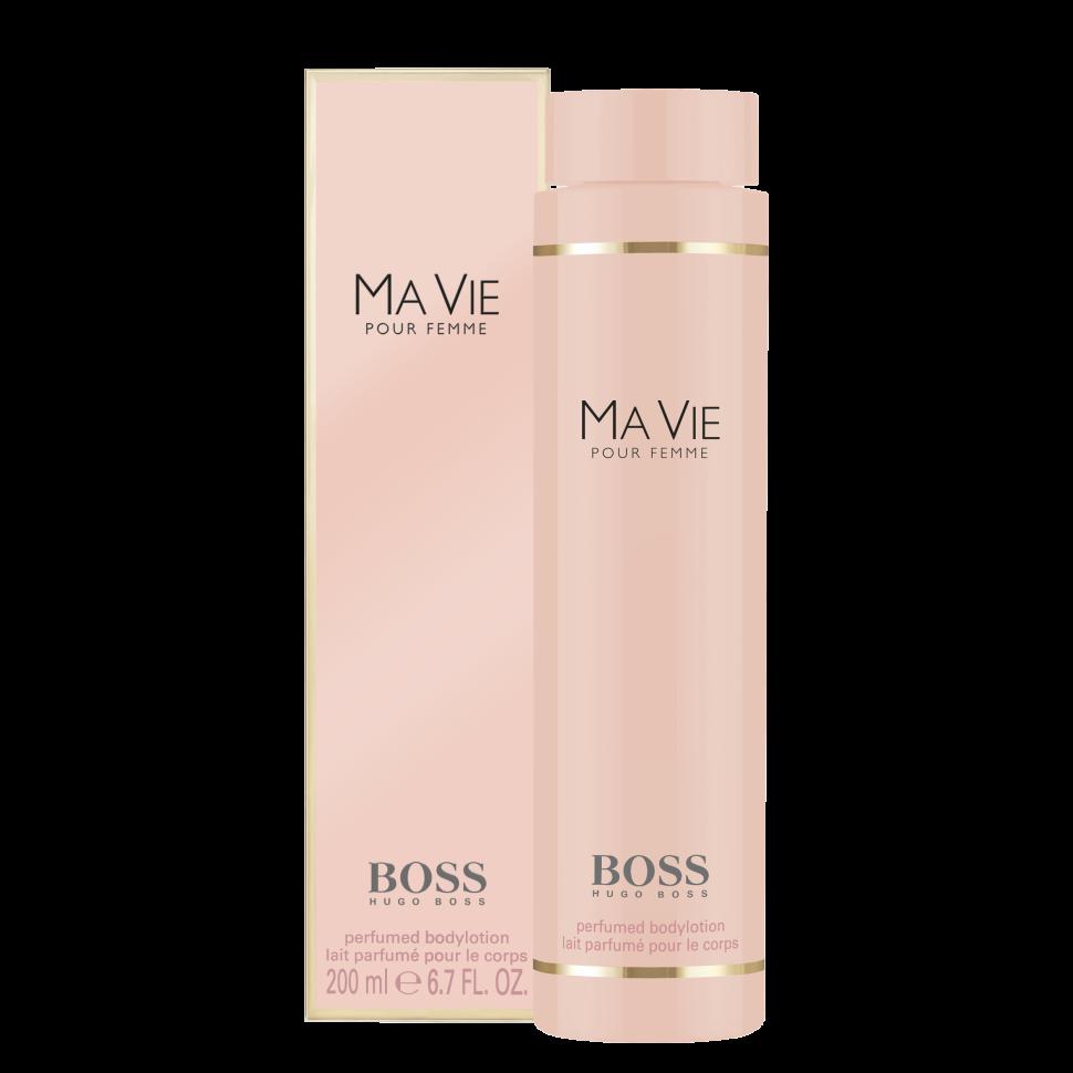 Hugo Boss Ma vie Лосьон для тела 200 млHugo Boss<br>Руководство по выбору:<br>Дневной и вечерний аромат<br>Описание:<br>Boss Ma vie Pour Femme - красивый женский аромат, продолжающий цветочную коллекцию бренда Hugo Boss. Парфюм 2014 года имеет тот же флакон, что и его предшественники, но окрашен в розовый цвет. Эти духи предназначены для сильных, независимых, современных женщин, находящих возможность насладиться редкими мгновениями жизни - полетом бабочки, запахом цветка или прикосновением теплых лучей солнца к коже. Современность женщины отражают экзотические аккорды цветущего кактуса - ароматные и зеленые одновременно, они несут в себе двойственность - красоту и защищенность. Женственность олицетворяют нежные цветочные ноты - игристой фрезии, чувственного, пьянящего жасмина и трогательных бутонов розы. Ну а независимость отражена в базе парфюма, звучащем хвойными нотами кедра на фоне мягких древесных аккордов.<br>Особенности состава:<br>Цветок куктуса - сильный, женственный, независимый<br>Мнение эксперта:<br>Аромат, отражающий самую суть женщины HUGO BOSS, с независимым характером, дарит умиротворяющее ощущение наслаждаться жизнью во всей ее полноте<br>Состав:<br>Aqua (Water), Hydrogenated Polydecene, Propylene Glycol, Dimethicone, Parfum (Fragrance), Cyclopentasiloxane, Squalane, Aloe Barbadensis Leaf Juice, Helianthus, Annuus Seed Oil/ Helianthus Annuus (Sunflower) Seed Oil, Carbomer, tromethamine, Dimethiconol, Methylparaben, Phenoxyethanol, Polyglyceryl-3 Ricinoleate, Sorbitan Oleate, Chlorphenesin, O-Cymen-5-Ol, tetrasodium Edta, Bht, Butylparaben, Sodium Hyaluronate, Polyquaternium-51, Ethylparaben, Propylparaben, Citric Acid, Potassium Sorbate, Sodium Benzoate, tocopherol, Limonene, Hydrocycitronellal, Linalool, Citronellol, Geraniol, Hydroxyisohexyl 3-Cyclohexene Carboxaldehyde, Coumarin, Citral, Benzyl Alcohol<br><br>Вес г: 230<br>Бренд : Hugo Boss<br>Объем мл: 200<br>Страна производитель : Польша