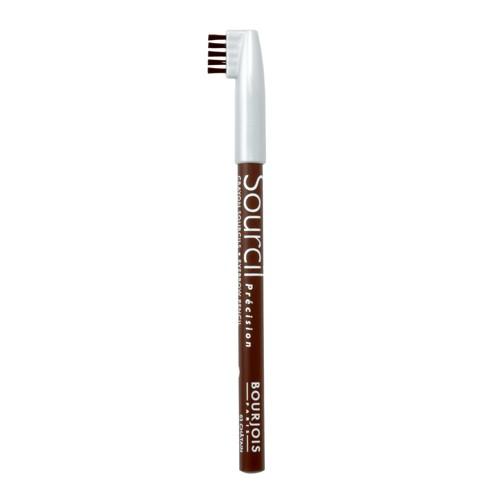 Bourjois Карандаш для бровей с кисточкой Sourcils Precision (03 шатен)Карандаш для бровей Bourjois Sourcils Precision со специальной щеточкой.Брови играют решающую роль в характере взгляда. Плотная текстура карандаша для бровей Буржуа позволяет наполнить брови красивым, натуральным цветом. Идеальная щеточка придает бровям безупречный вид. <br> Не растекается и позволяет при желании изменить форму брови.<br><br>Бренд : Bourjois<br>Цвет : 03 шатен<br>Тип средства для бровей : карнадаш с щеточкой<br>Страна производитель : Италия