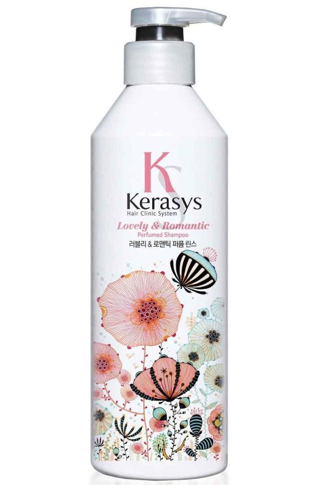 KeraSys Кондиционер для волос Romantic для красоты и здоровья волосKeraSys<br>Керасис Парфюмированная линия РОМАНТИК<br>Кондиционер для волос<br>Kerasys Lovely &amp;amp; Romantic ParfumedСпециально разработанная формула для поврежденных с секущимися концами, восстанавливает структуру волос по всей длине, уменьшает сечение и ломкость. Волосы обретают жизненную силу, блеск и эластичность. Содержит богатые витаминами экстракты цветов базилика и маргаритки.Аромат: романтичный и чувственный аромат, он прекрасен и неповторим словно первая любовь. Едва уловимые нотки жасмина и магнолии подарят ощущение счастья и блаженства.Парфюмерная композиция:<br>Начальная нота: цветы апельсина, цветы белого персика, фрезия.<br>Срединная нота: жасмин, магнолия, маргаритка, ландыш.<br>Конечная нота: кедр, белый мускус, амбра.Объем: 600 мл<br><br>Вес г: 650<br>Бренд: KeraSys<br>Объем мл: 600<br>Тип волос: поврежденные, тонкие и ослабленные, длинные и секущиеся<br>Действие: увлажнение, питание, восстановление, блеск и эластичность<br>Тип средства для волос: кондиционер<br>Страна производитель: Корея