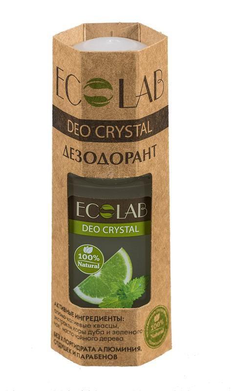 Ecolab Дезодорант для тела DEO CRYSTAL Лимон и апельсинДля тела<br>Органические Дезодоранты Кристалл содержат 100% ингредиентов растительного происхождения.<br>Продукт не содержит хлоргидрат алюминия, отдушек и парабенов.<br><br>Вес г: 70<br>Бренд: Ecolab<br>Объем мл: 50<br>Страна производитель: Россия